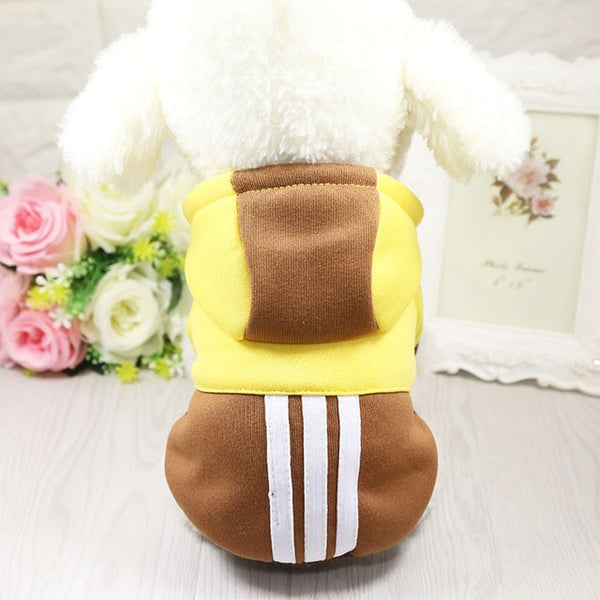 Dog Clothes Winter Soft Hoodie Chihuahua Clothes Warm Pet Dog Clothes Winter Dog Clothing for Small XS Chihuahua Yorkie Coat