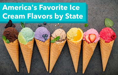 America's Favorite Ice Cream Flavors by State