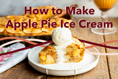 How to Make Apple Pie Ice Cream