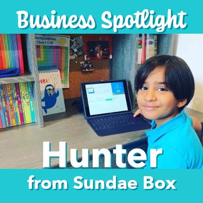 Business Spotlight: Hunter from Sundae Box