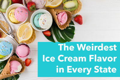 The Weirdest Ice Cream Flavor in Every State