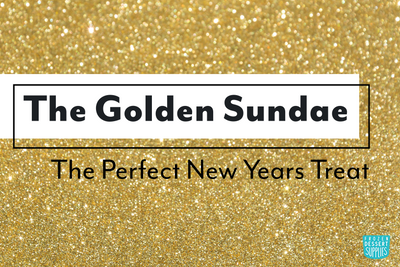 The Golden Sundae: the Perfect New Years Treat