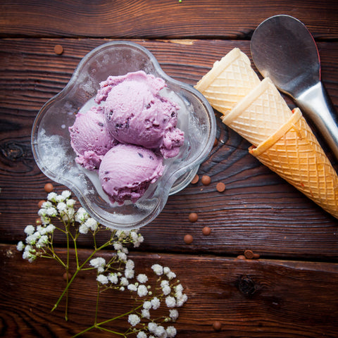 Huckleberry Ice Cream, America's Favorite Ice Cream Flavors by State