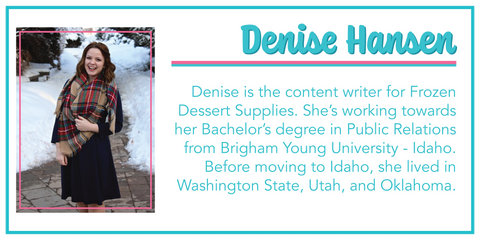 Denise Hansen, Black History Month: The Father of Ice Cream