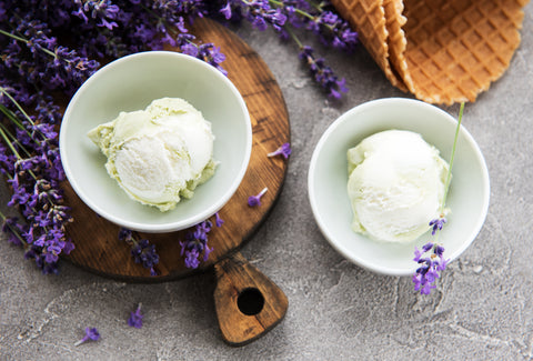 Lavender Honey Ice Cream, 5 Ice Cream Flavors to Fill Your Ice Cream Cup this Spring!