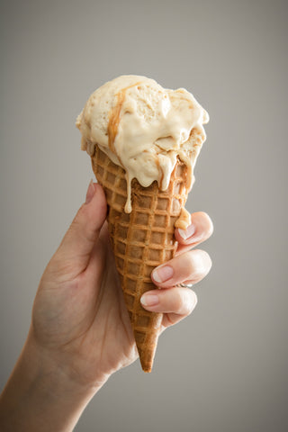Melty Cone, How to Make Apple Pie Ice Cream