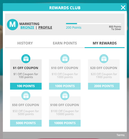 Redeem Points, Frequently Asked Questions about Our Rewards Program