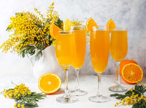 Mimosa, 5 Mother's Day Ice Cream Flavors to Feature in Your Ice Cream Shop