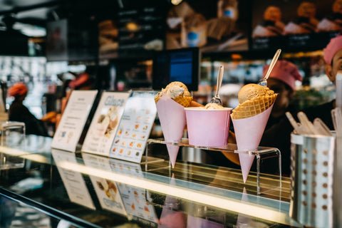 Ice Cream Cone Display, Your Guide to Social Media Marketing in Your Ice Cream Shop
