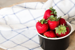 Strawberries in Cup, 10 Ice Cream Flavors you Should be Serving this Valentine's Day