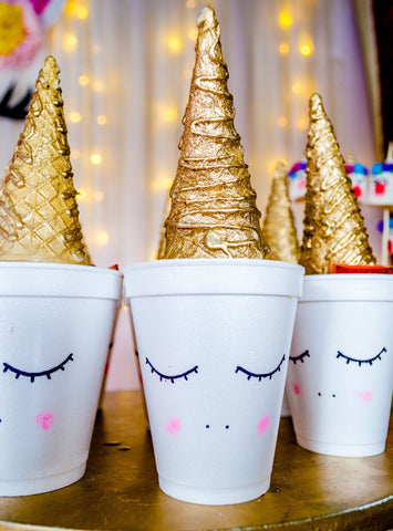 Gold Ice Cream Cone, The Golden Sundae: the Perfect New Years Treat
