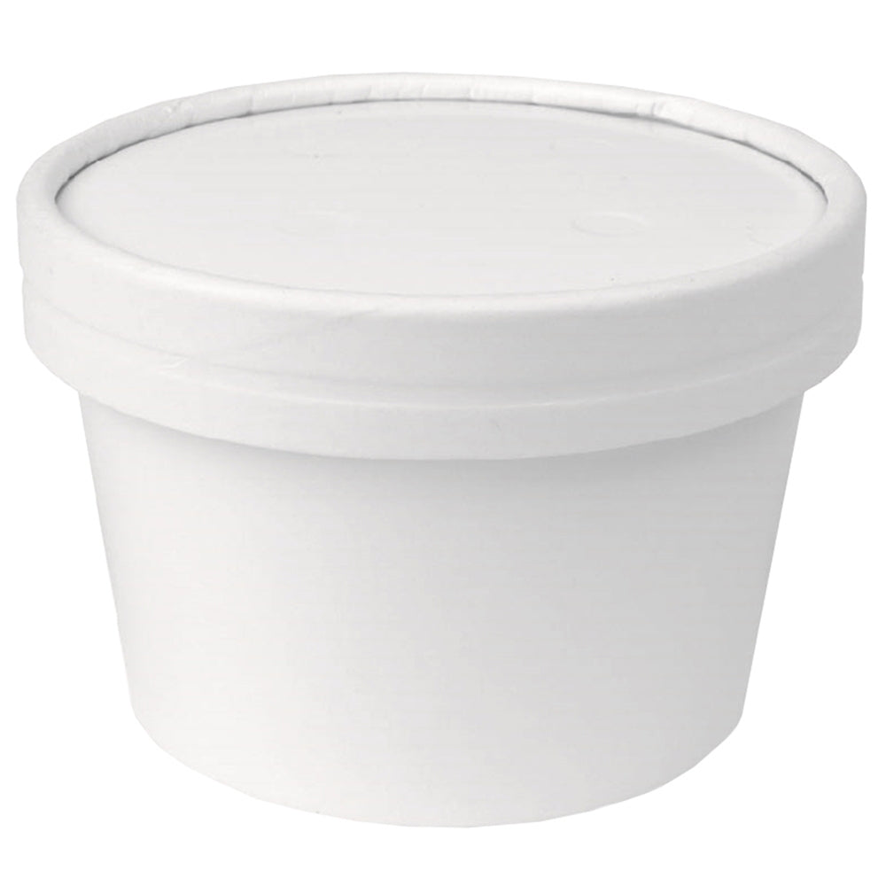 UNIQ® 8 oz Ice Cream To Go Containers With Non-Vented Lids