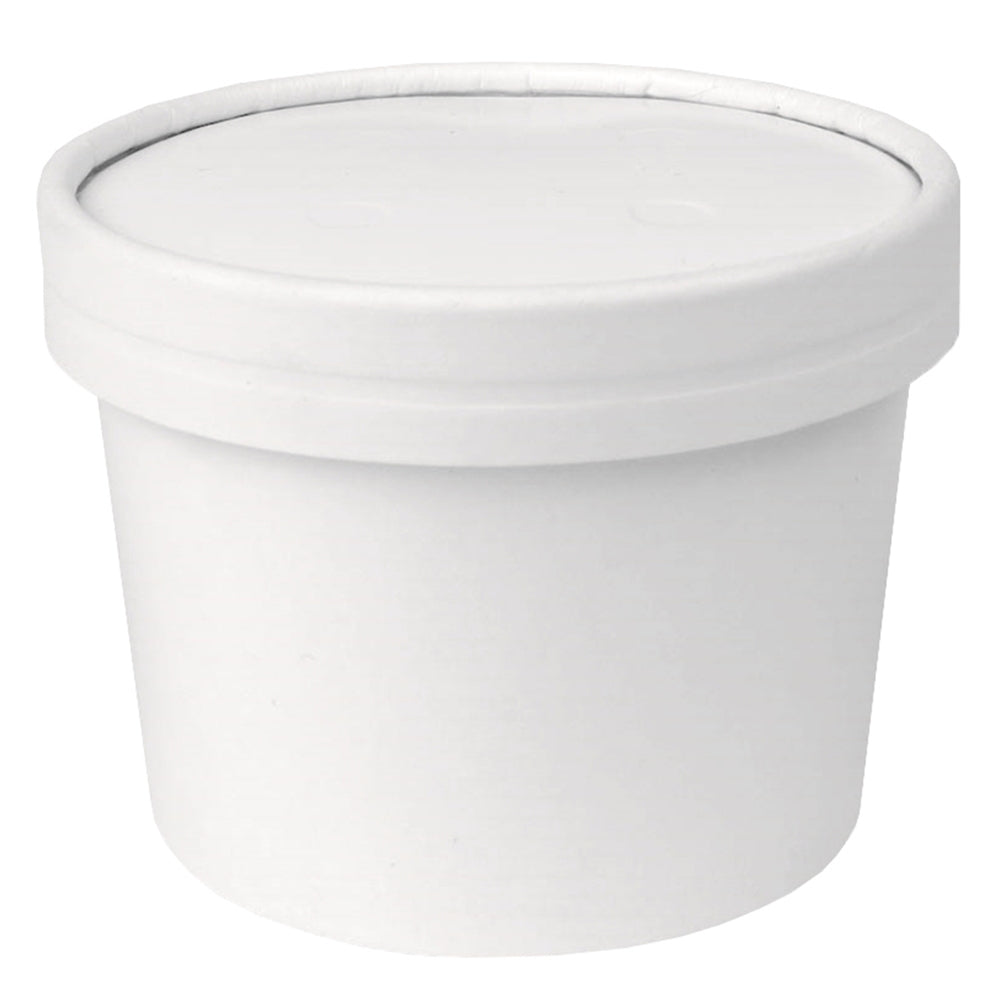 UNIQ® 12 oz Ice Cream To Go Containers With Non-Vented Lids