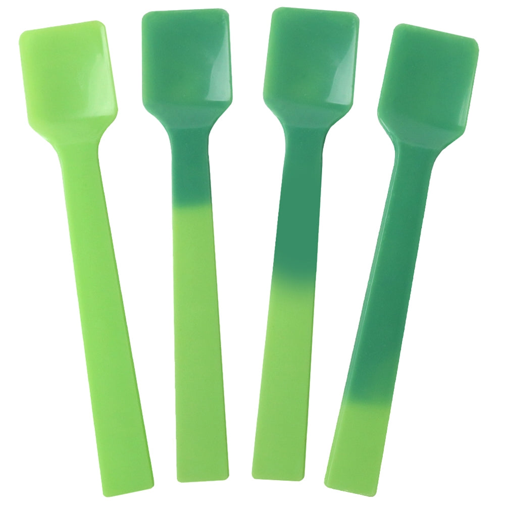UNIQ® Color Changing Gelato Spoons - Neon Green to Green