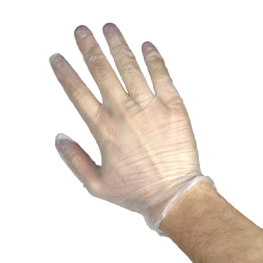 Vinyl Powder-Free Gloves (Clear)