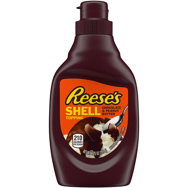 REESE'S® 7.25 fl oz Chocolate and Peanut Butter Shell Topping