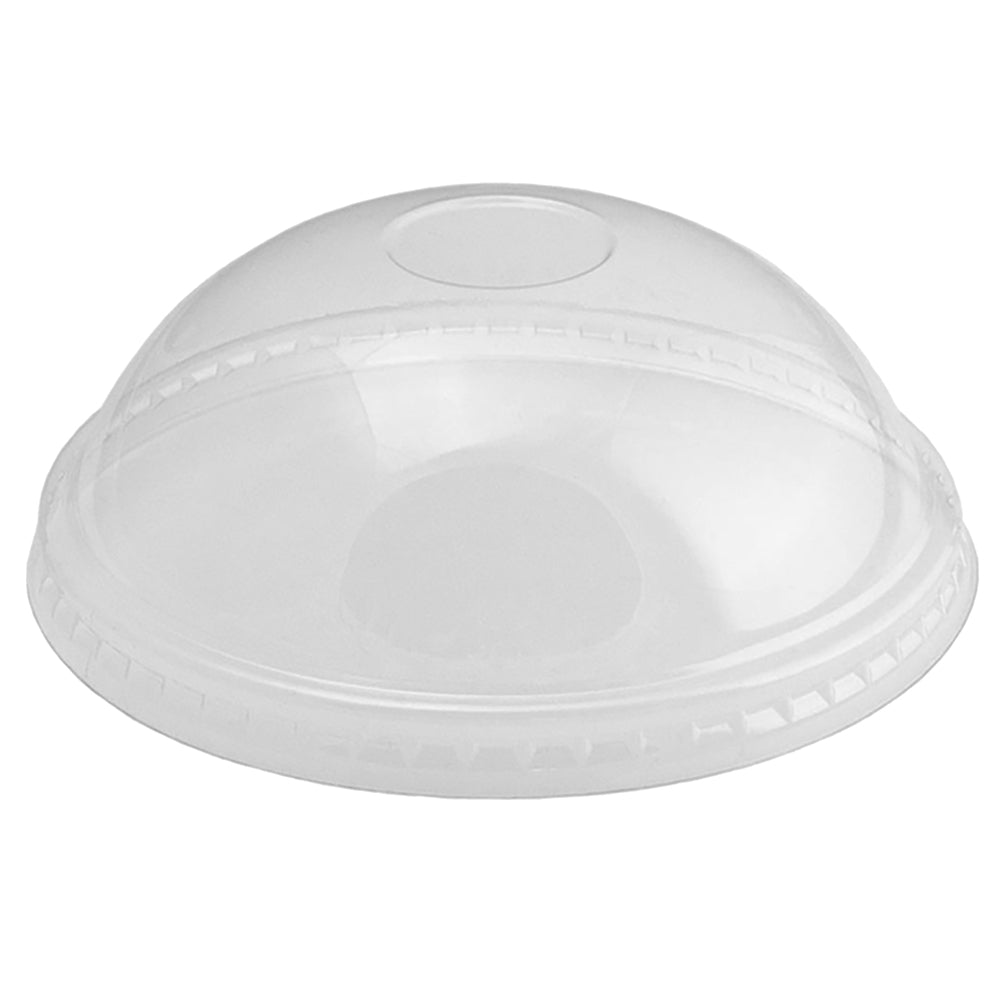 UNIQ® 20 oz Clear Dome Ice Cream Cup Lids