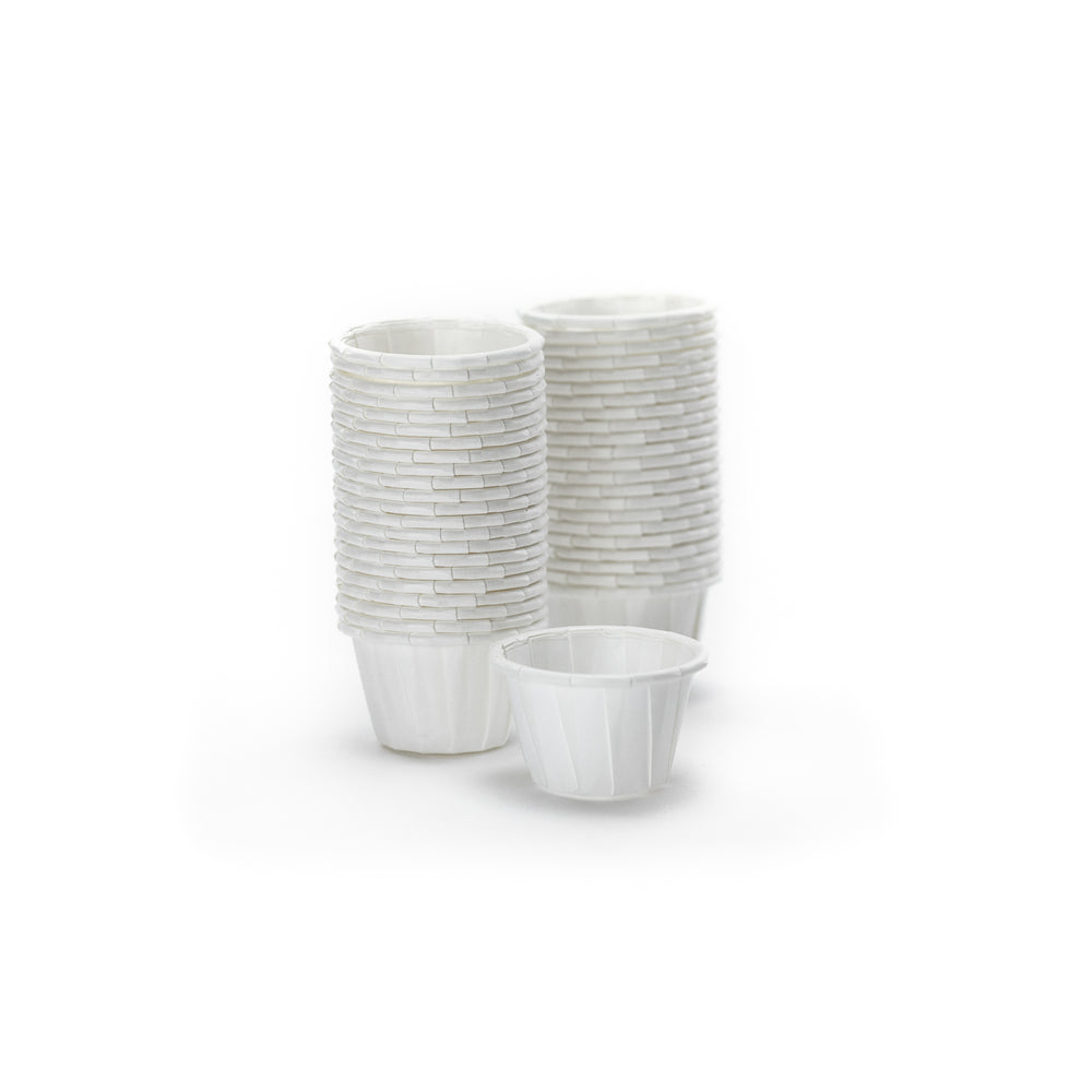 UNIQ® Paper Souffle Sample Cup - 0.50 oz