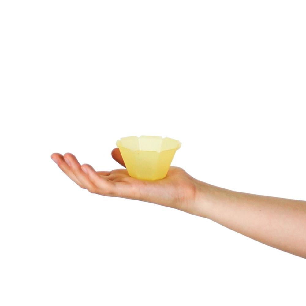 UNIQ® Petali 3 oz Yellow Gelato Cups