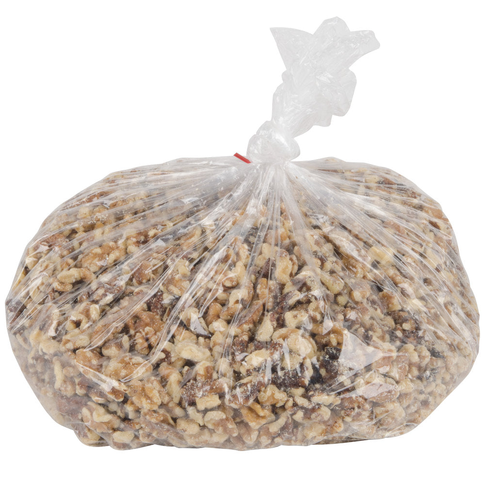 Regal Foods 5 lb. Raw Walnut Halves and Pieces