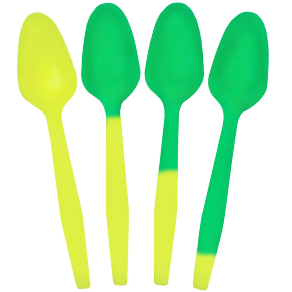 UNIQ® Crazy Color Changing Spoons - Yellow to Green
