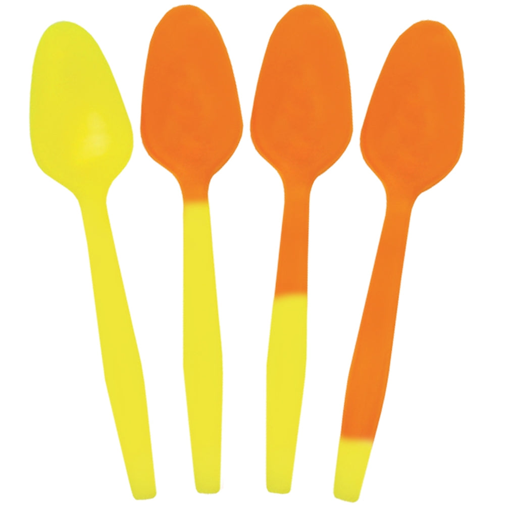 UNIQ® Crazy Color Changing Spoons - Yellow to Orange