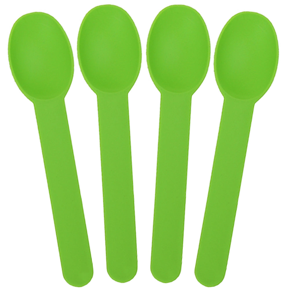 UNIQ® Green Heavy Duty Frozen Yogurt Spoons