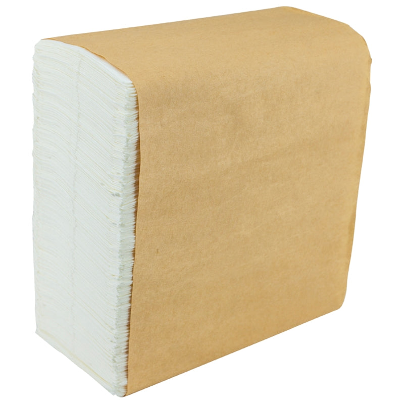 Tallfold Napkins - White - Package of 8,000