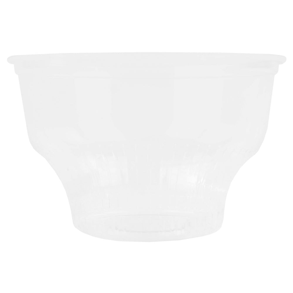 8 oz Clear Plastic Ice Cream Sundae Cups