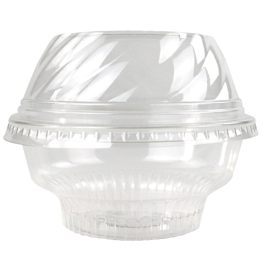 5/8/12 oz Low Dome Ice Cream Sundae Cup Lids