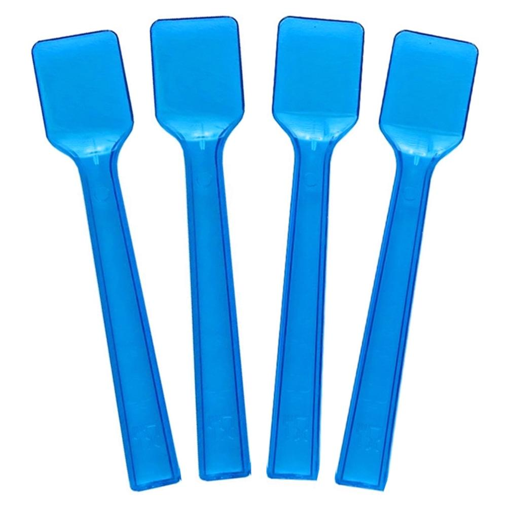UNIQ® Transparent Blue Gelato Spoons
