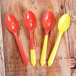 UNIQ® Color Changing Dessert Spoons - Yellow to Orange