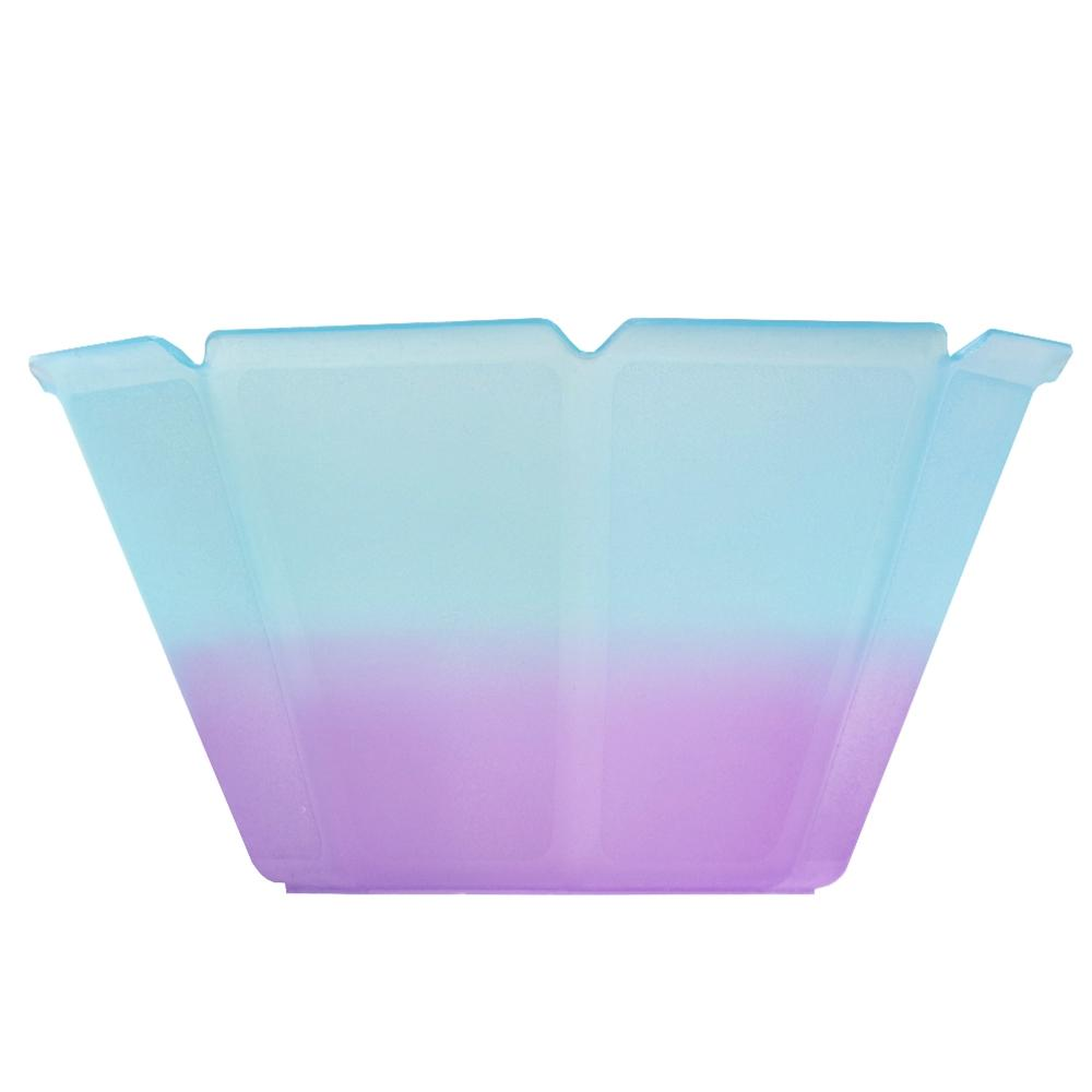 UNIQ® Petali 6.8 oz Color Changing Gelato Cups - Blue to Purple
