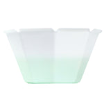 UNIQ® Petali 6.8 oz Color Changing Gelato Cups -White to Green