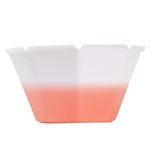 UNIQ® Petali 6.8 oz Color Changing Gelato Cups - White to Orange