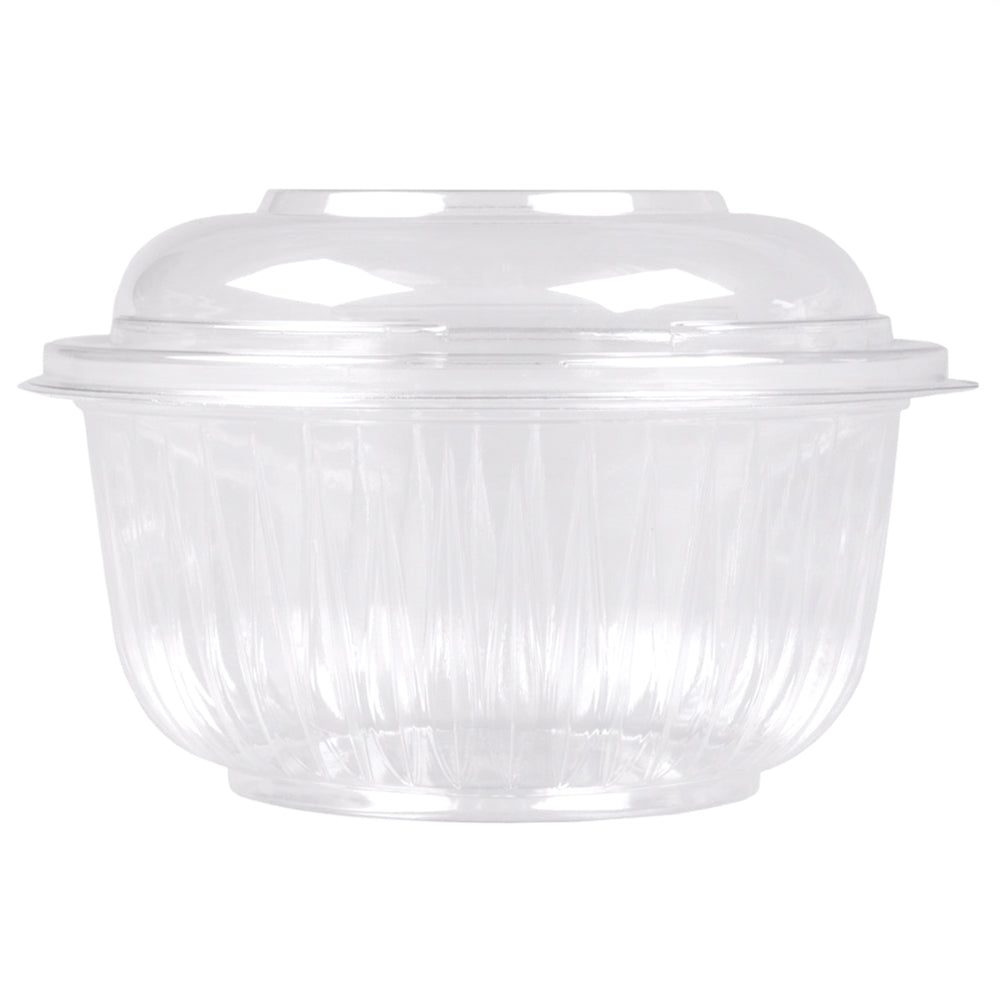 16 oz Clear Plastic Bowls and Dome Lids