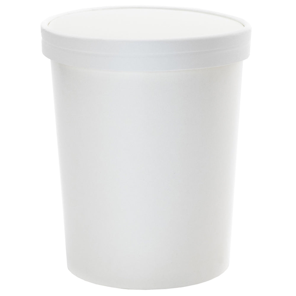 UNIQ® Quart 32 oz Ice Cream To Go Containers With Non-Vented Lids