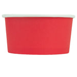 UNIQ® 6 oz Red Eco-Friendly Compostable Ice Cream Cups
