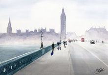 Load image into Gallery viewer, Haze Over Westminster
