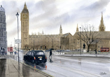 Load image into Gallery viewer, Rainy Day at Westminster