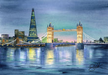 Load image into Gallery viewer, Shard and Tower Bridge