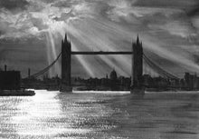 Load image into Gallery viewer, Tower Bridge By Moonlight