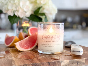 Blushing Lady Soy Wax Candle | Blush Scented Soy Candle | VigorWicks