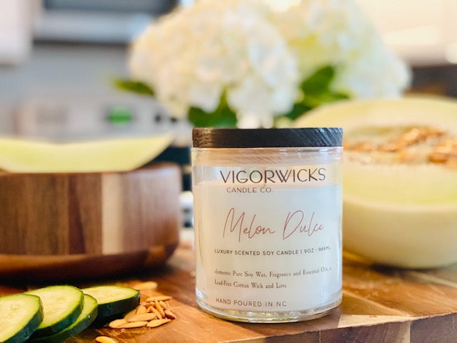 Melón Dulce Soy Wax Candle
