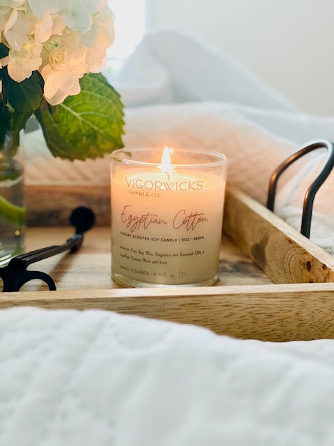 Egyptian Cotton Soy Wax Candle