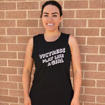 VICTRESS® - PLAY LIKE A GIRL - BLACK TANK