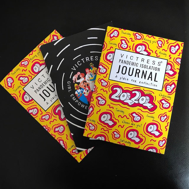 VICTRESS® - Journal notebooks - Assorted 3 Pack