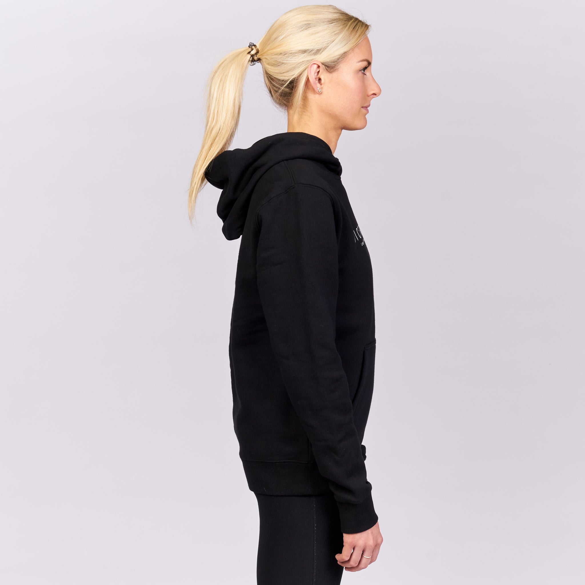 VICTRESS PREMIUM SUPER FLEECE HOODIE- BLACK