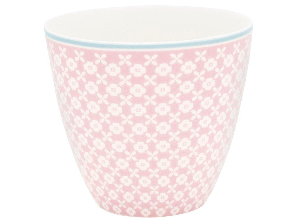Stoneware Latte cup Helle pale pink - Cucina-Laura