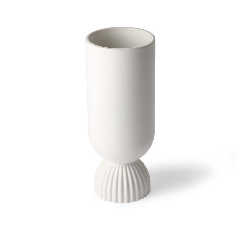 Vase Ribbed Base